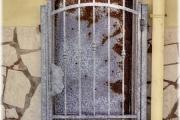 porta arruginita